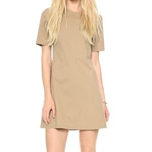 Theory Tan Palatial Danaline Dress